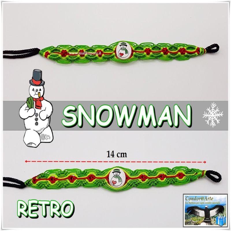 BRACCIALE-DELL'AMICIZIA-*Snowman