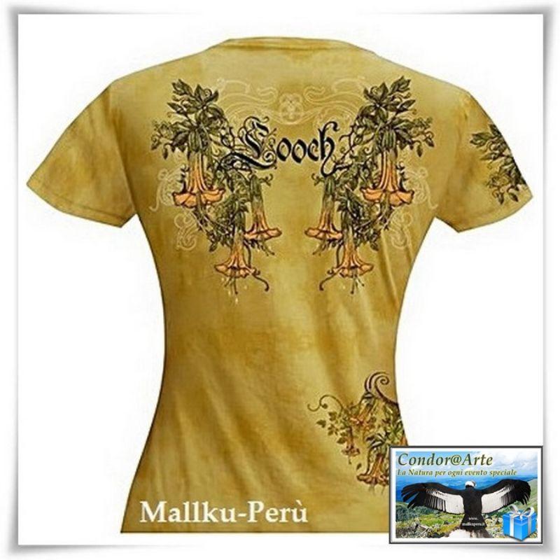 T-shirt-Donna:-FIORE-CANTUTA