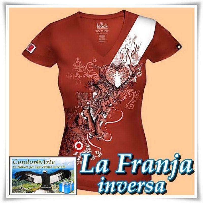 T-shirt-Donna:-SIMBOLI-DEL-PERU'